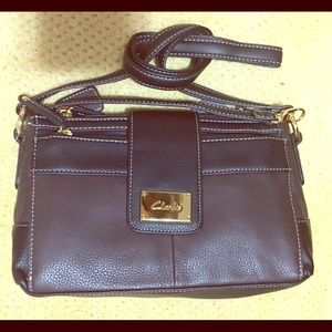 Brown & Black Clark Bag